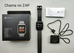 Título do anúncio: Smartwatch Amazfit Bip S com GPS! NOVA LACRADA. DIVIDO no cartão