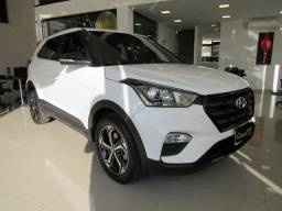 HYUNDAI CRETA 2018 2.0 16V FLEX SPORT AUTOMÁTICO BRANCO COMPLETO ÚNICO DONO!