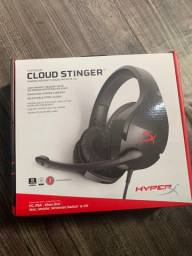 Headset hypex cloud stinger novo