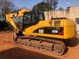 Escavadeira hidráulica cat 320D