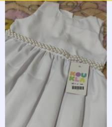 Título do anúncio: Vestido infantil luxo ideal para festas.