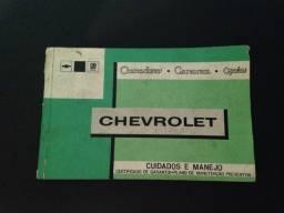 Título do anúncio: Manual Opala original
