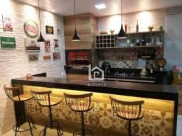 Cobertura com 2 dormitórios à venda, 185 m² por R$ 410.000,00 - Jockey de Itaparica - Vila