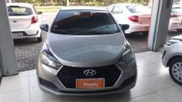 Hyundai HB20 1.0MT UNIQUE - prata sand - IPVA 2021 pago