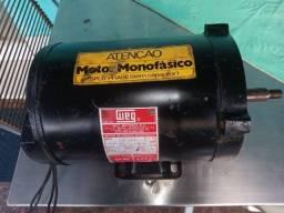 Título do anúncio: Motor Weg Monofásico 1/3 cv 3500rpm