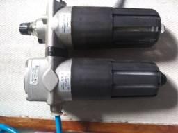 Título do anúncio: Bloco pneumático e filtro de ar e lubrificador