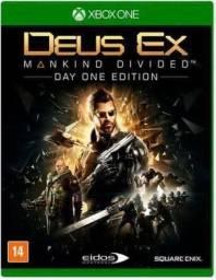 Deus Ex x box one semi novo.