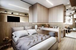 Título do anúncio: PROMOÇÃO - Apartamento de 2 dorms. com suíte, varanda e vaga livre - 69m² - Em construção