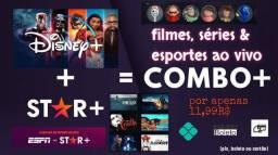 Título do anúncio: 2 aplicativos, Disney & Star+ por apenas 11,99 COMBO aproveite