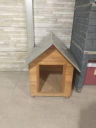 Título do anúncio: Casinha de Cachorro N2 - Madeira; Ótimo estado