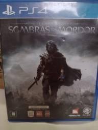 Título do anúncio: Sombras de Mordor PS4