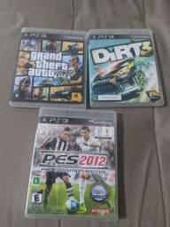 3 jogos para Playstation 3 (GTA 5)