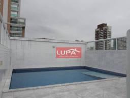 Título do anúncio: Apartamento com 2 dormitórios para alugar, 62 m² por R$ 3.900,00 - Boqueirão - Santos/SP