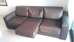 Confortável Sofá retratil 3 lugares, muito bom
