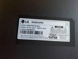 Tv LG 49 4K para retirada de peças