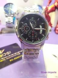 Título do anúncio: Relógio Masculino Nibosi Novo Original
