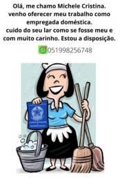 Título do anúncio: Empregada doméstica/ faxineira