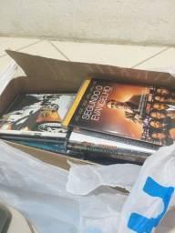 Lote com vários dvd de variados filmes e variados assunto