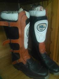 Bota de rally XL da Honda