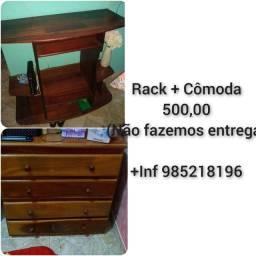 Título do anúncio: Rack + cômoda PROMOÇÃO
