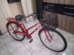 Título do anúncio: bicicleta caloi poty nova zero vermelha com machas