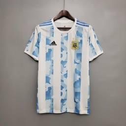Título do anúncio: Camisa da Argentina Posso Personalizar e entrego em 24 Hrs