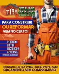 Título do anúncio: Pedreiro mestre de obras