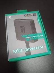 Hub Deepcool Gamer Storm Conversor RGB 5v Para 12v , DP-FRGB-CHUB5-12V