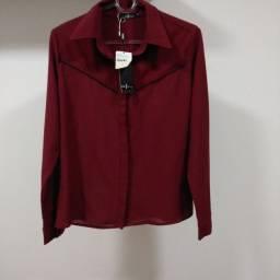 Título do anúncio: Camisa Slim - Boutique Alix Shop - Tam.42