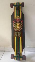 Skate Longboard Rasta Style