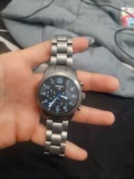 Relógio fóssil Q54 pilot importado