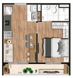 Título do anúncio: Apartamento de 1 e 2 dormitórios