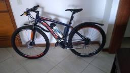 "Bicicleta elétrica 350w 29"" freio à disco hidráulico"