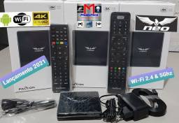 Título do anúncio: Receptor Alien Falcon Neo 4K - Wifi 5G