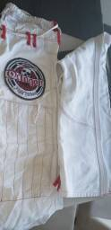 Kimono branco novo A1