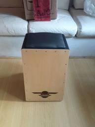 Cajón Eletroacústico Novo (Na Caixa) - Marfim