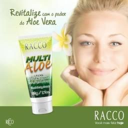 Creme Revitalizante Para Face E Corpo Multi Aloe Racco 50 G (1185)