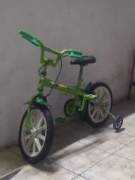 Título do anúncio: Bicicleta bem 10 infantil