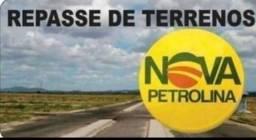 Título do anúncio: Repasse terreno Nova Petrolina