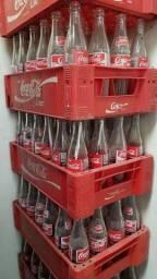 Título do anúncio: Garrafeira Coca-Cola com cascos de 290ml vazias