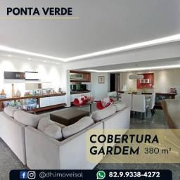 Excelente Cobertura Gardem na Ponta Verde! Confira!