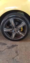 roda 18 5x100 com pneus novos