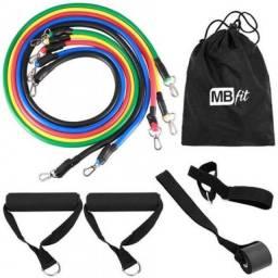 Kit Power Tube Elástico De Tensão - Mbfit