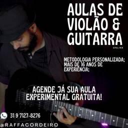 Título do anúncio: Aula Experimental de Violão & Guitarra Gratuita