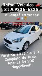 Ford Ka 2015 Completo!