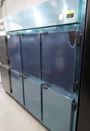 }_| Geladeira industrial 6 portas pronta entrega promoção