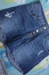 Título do anúncio: Short jeans com lycra 46