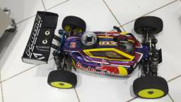 Automodelo Buggy Losi 8igth 1/8 4WD a combustão