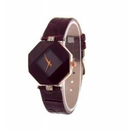 fcb56288a1c Relógio Feminino Pulseira Couro
