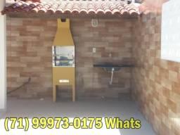 Casa Jauá reformada - 50mt praia, Mobiliada, 4 quartos e 3 banheiros - varandada (Ref.03)